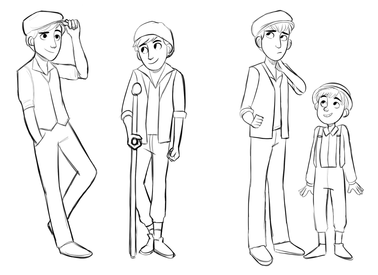 I Did Draw Jack Crutchie Davey And Les Bc Why Not But Im Lazy As Heck To Color Them But If U Still Want Them Here Newsies Creative Drawing Theatre Nerds [ 929 x 1280 Pixel ]