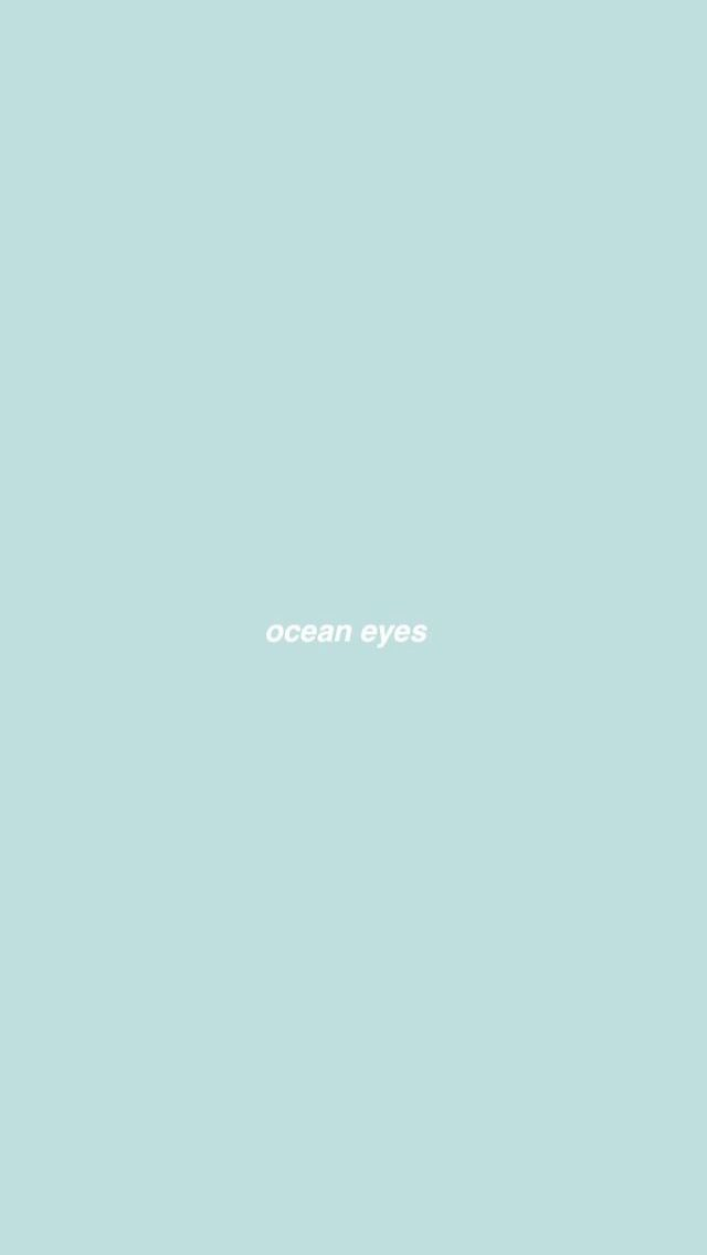 Ocean Eyes Billie Eilish Wallpaper Billie Eilish Billie Eilish Ocean Eyes Billie