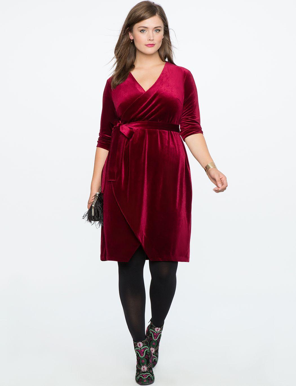 11 ways to wear a burgundy plus size dress | wedding | Plus ...