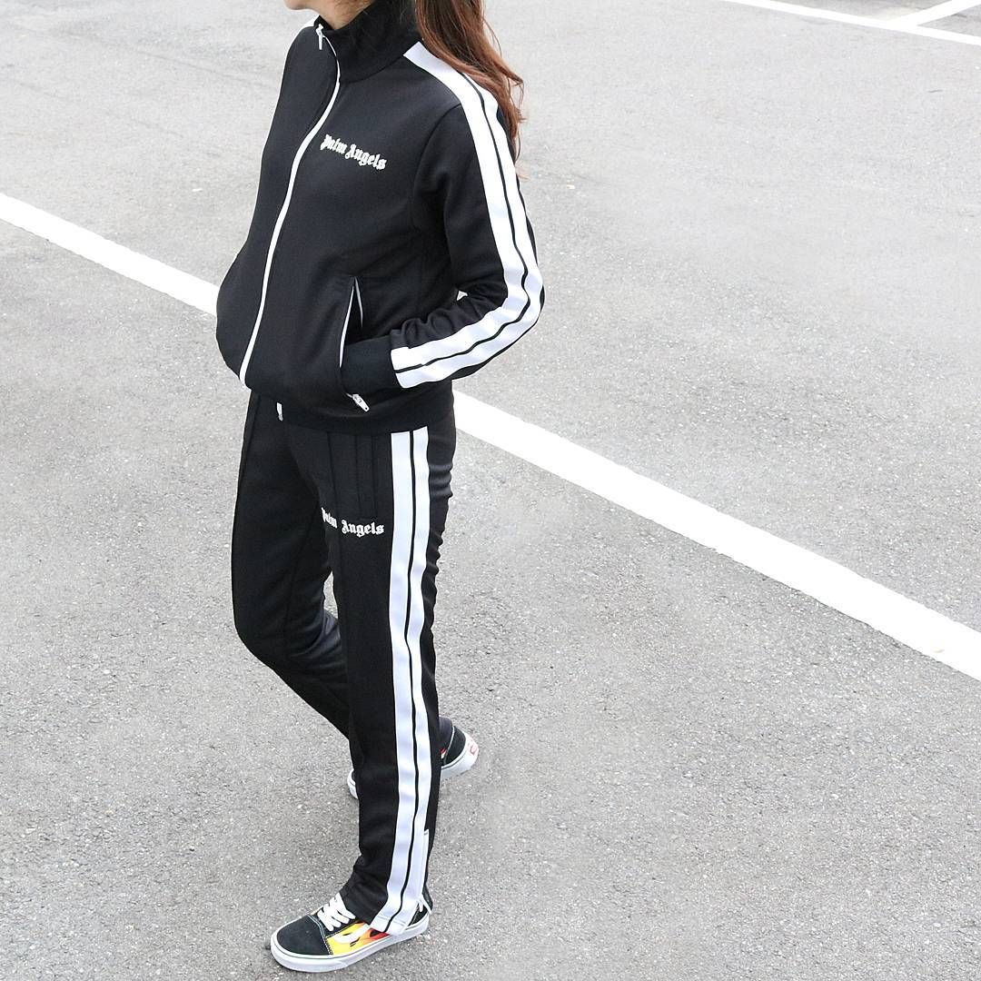 full on Palm Angels Track Suit x VANS