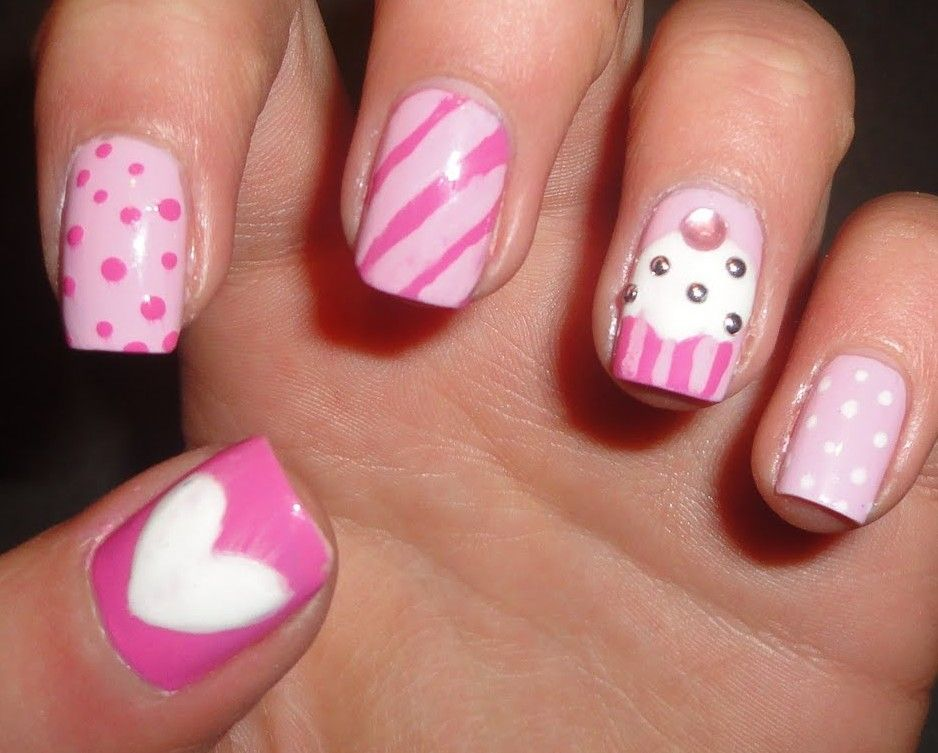 Easy Nail Design Images Five Basic Steps To Create Easy Nail Art