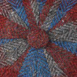 Photo of Herrenschirmmützen #crochethooks Stetson Hatteras Lammwolle Patchwork Flatcap B …