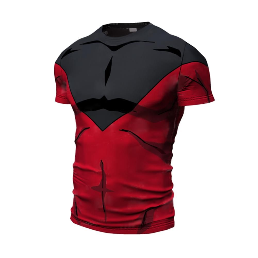77a5bf4db Pride Trooper Jiren T- Shirt | Products | Compression t shirt, 3d t ...