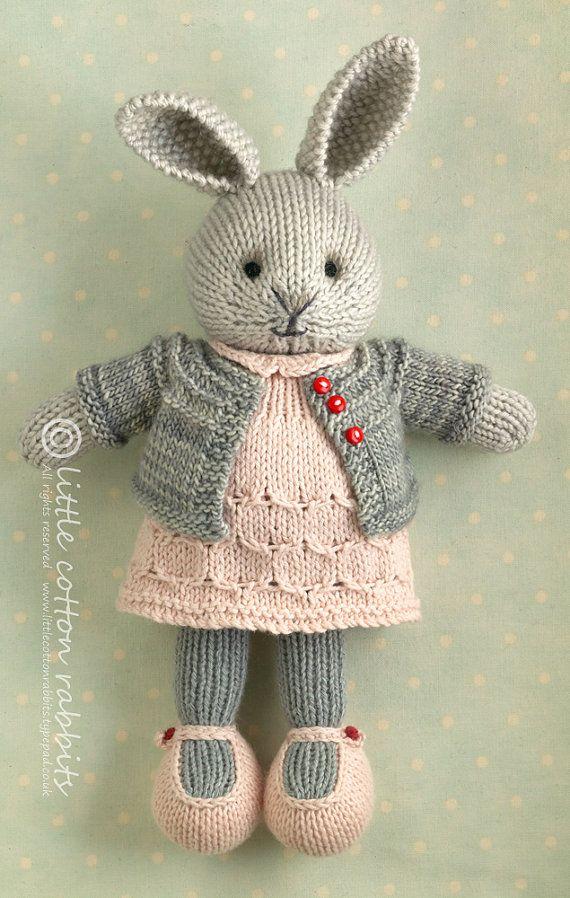 Rosemary | Tejido, Conejo y Patrones amigurumi