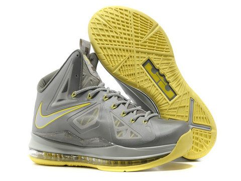 info for 174f0 1d0d6 Nike LeBron 10 Canary Yellow Diamond,Style code  541100-007,It features a  two-tone grey Hyperfuse upper with lighter detailing including the Nike  swoosh, ...