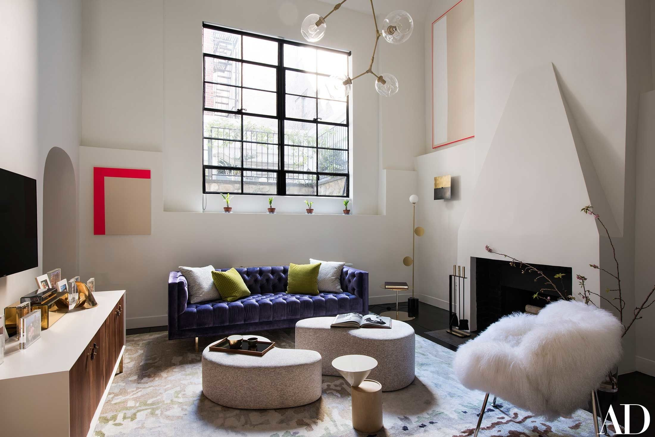 Jennifer aniston home interior anne v takes us inside her airy west village piedaterre
