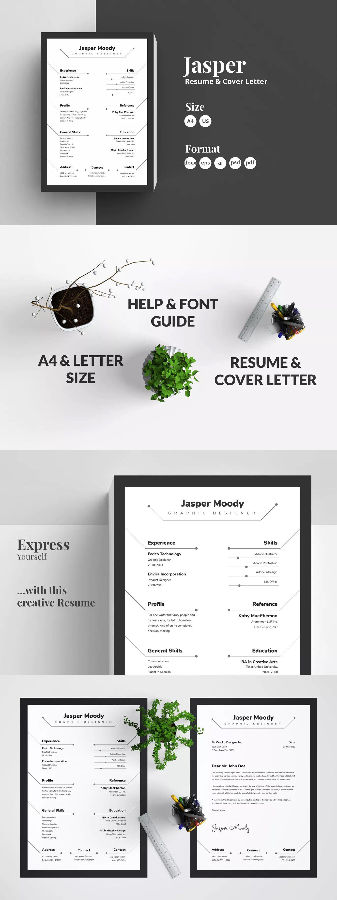 abstract resume  cv