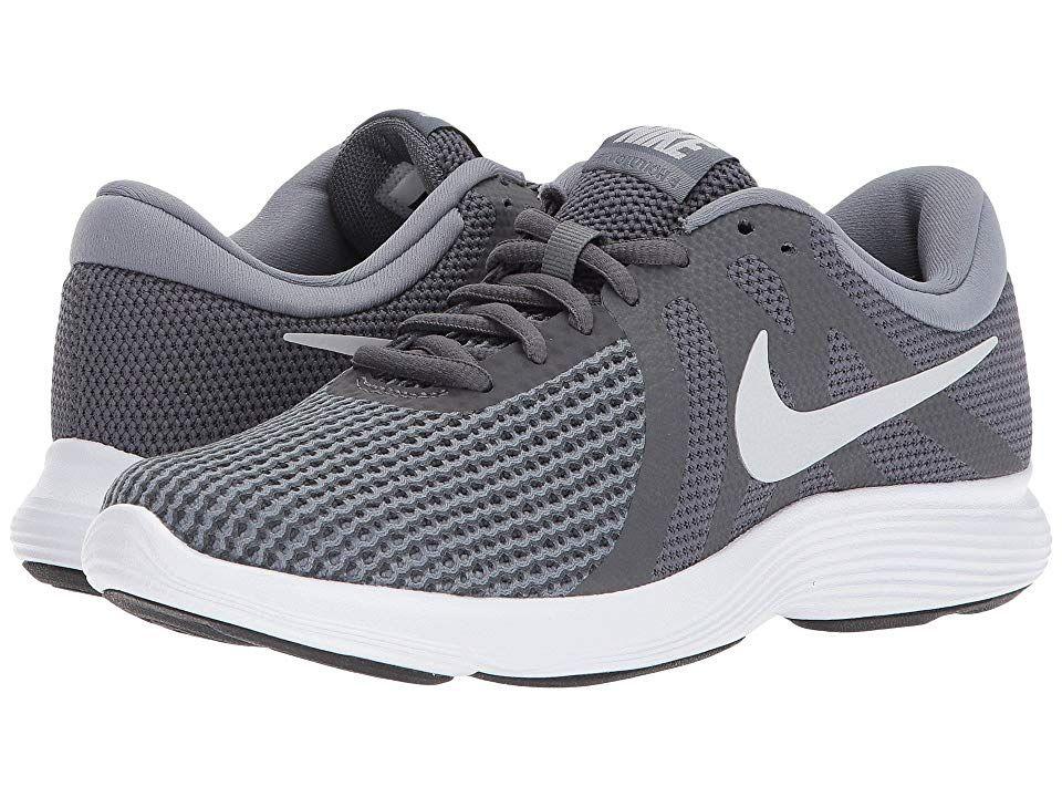 bandera nacional Bienes Saco  Nike Revolution 4 (Dark Grey/Pure Platinum/Cool Grey/White) Women's Running  Shoes. Lightweight and cushy the Revolution … | Mens nike shoes, Boys white  shoes, Nike