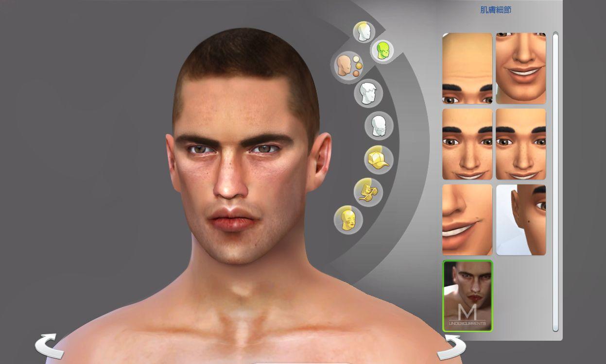Shaved head simulator