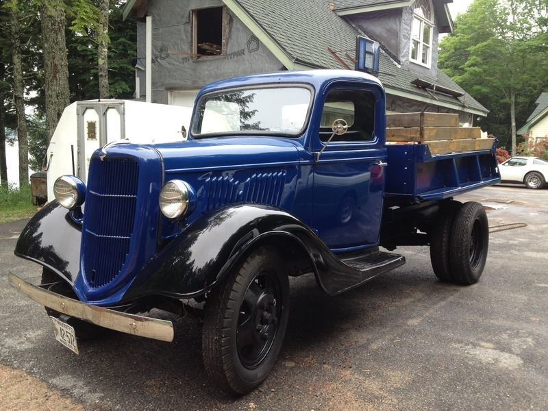 1935 Ford dump truck for sale by Owner - Sullivan , ME ...
