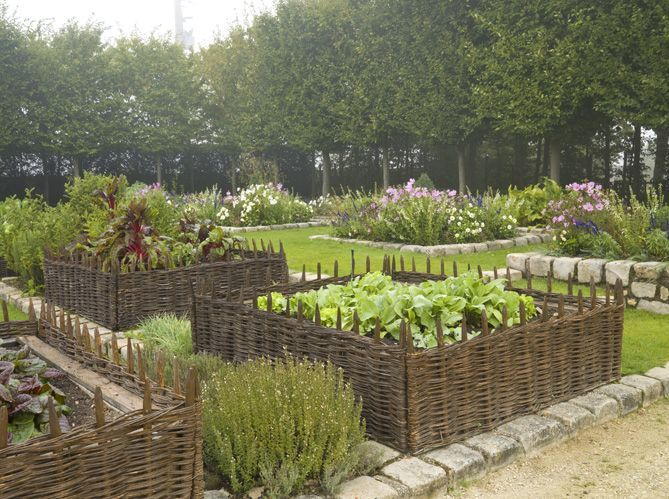 Genial Our Willow Border Edging Looks Great When Used For Raised Beds Also...  Http://www.amberleyproducts.co.uk/wicker Garden Products/willow Border  Edging.html