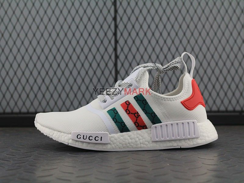 3efe8f5bb Adidas NMD Custom Gucci white
