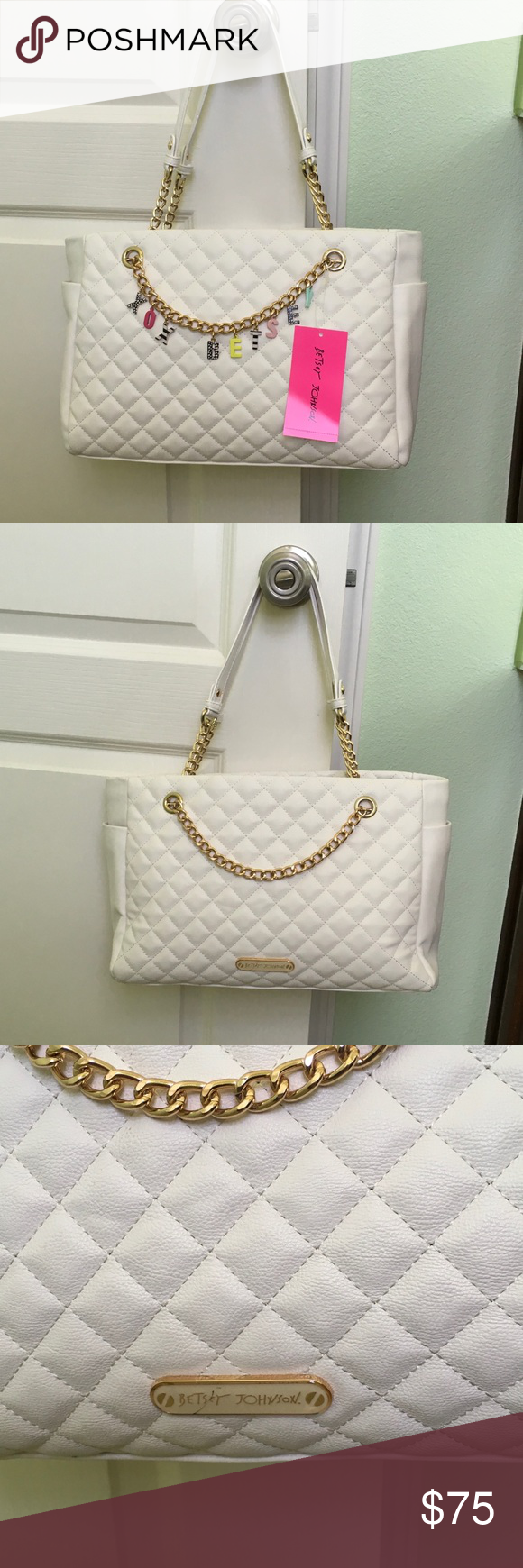 NWT Betsey Johnson handbag As shown Betsey Johnson Bags Shoulder Bags