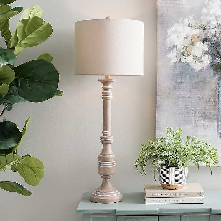Natural Wren Buffet Lamp Buffet lamps, Lamps for sale