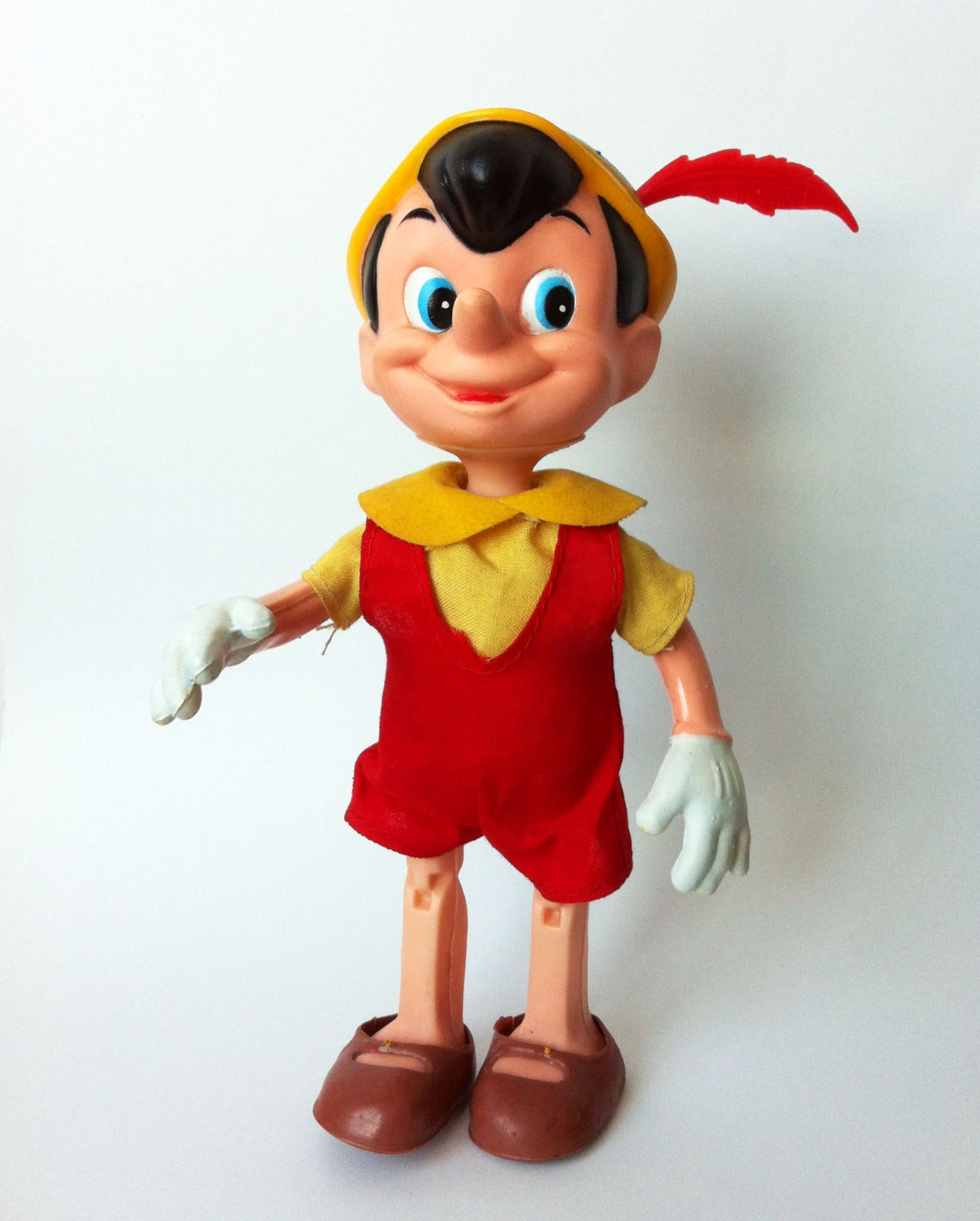 Vintage Pinocchio Toy 1960 Vintage Rubber Toys