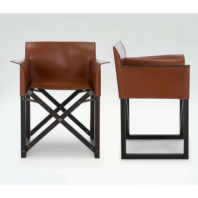 Giorgio Armani Leather Directors Chair tower marine Pinterest