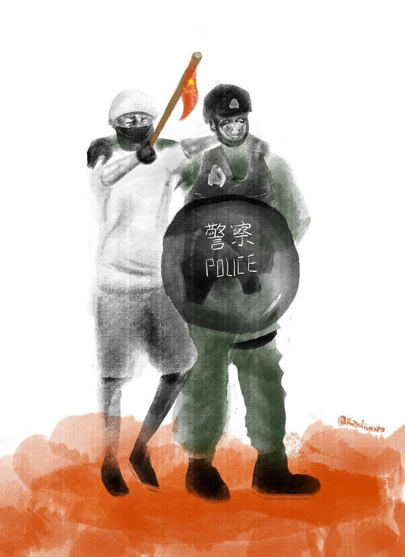 Badiucao Cartoon Chinese Artist Satirises Hong Kong S Extradition Bill Debacle Part Ii Hong Kong Free Press Hkfp Chinese Artists Kong Hong Kong