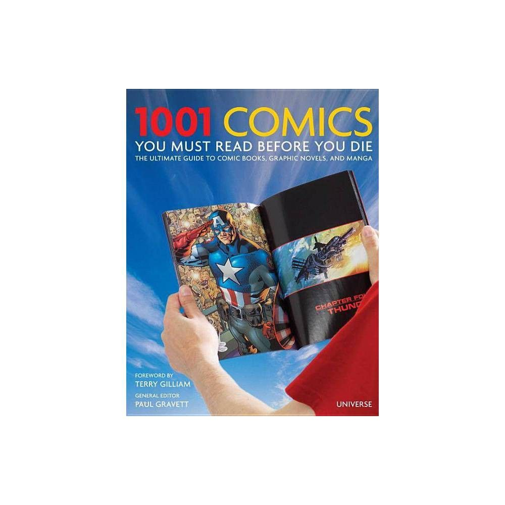1001 Comics You Must Read Before You Die Hardcover Hardcover