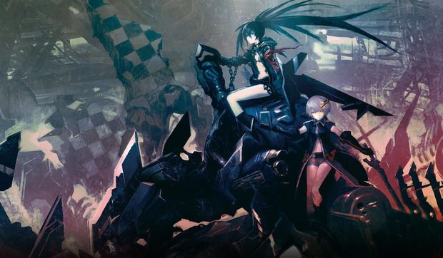 Black Rock Shooter The Game Is Us And Euro Bound Thanks To Nisa Black Rock Shooter Black Rock Rock Black rock shooter hd wallpaper