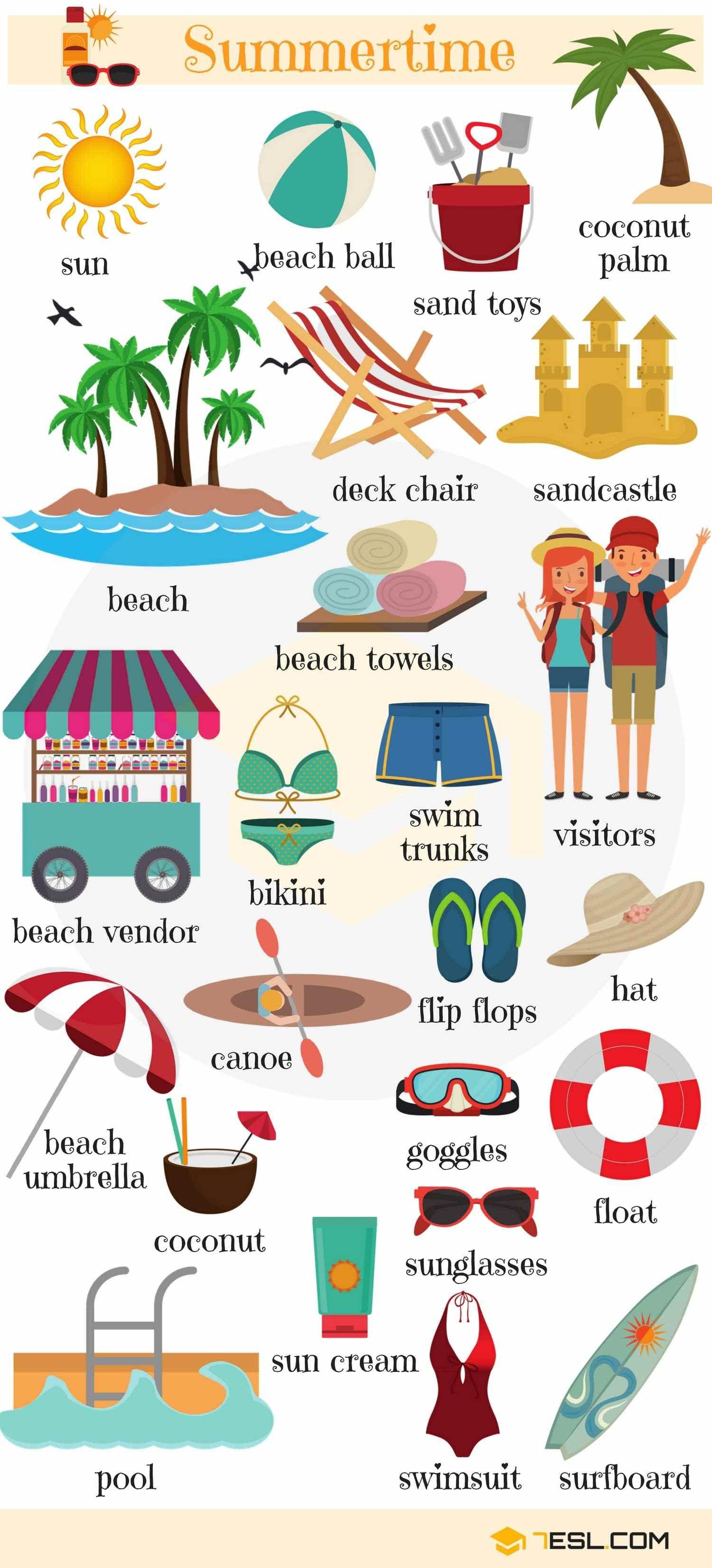 Holidays Vocabulary in English   English, Holidays and Language