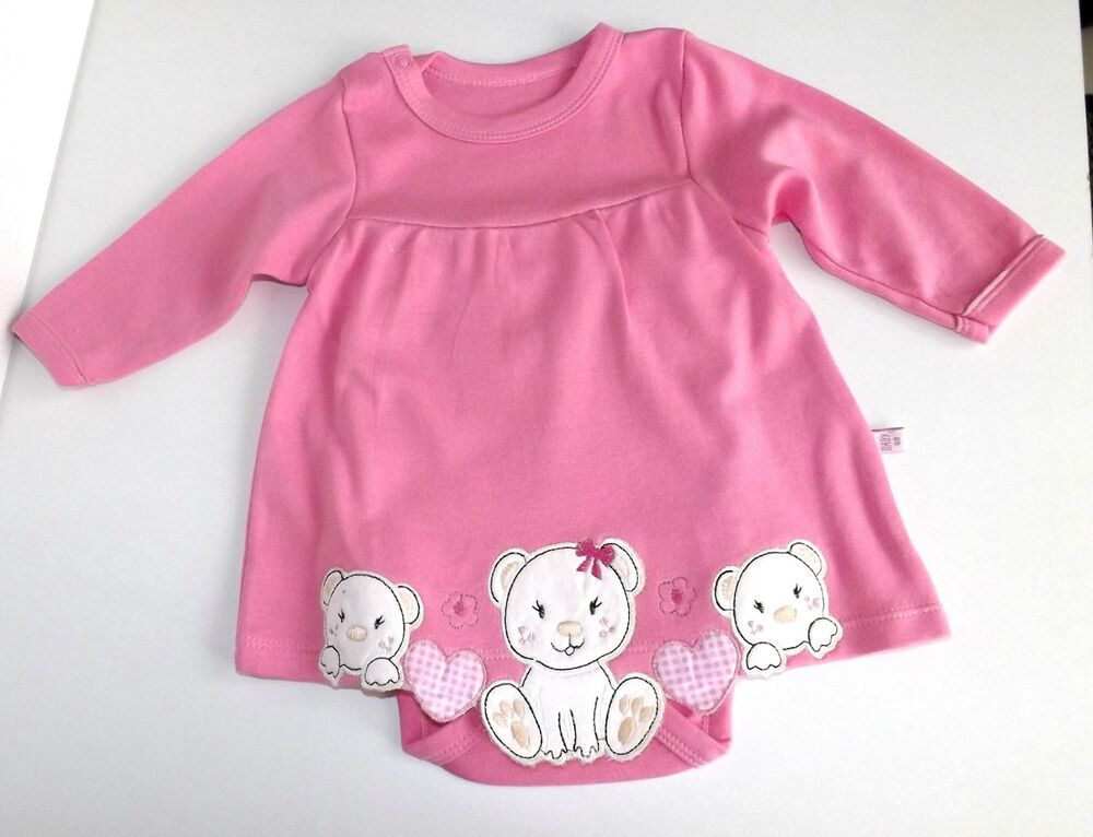 new products 3f24f 8f499 Babykleid Gr. 62 Mädchen Sommer Kleid Bodykleid Babybody ...