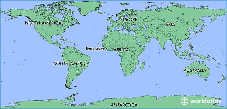 Where Is Sierra Leone America Map South America Map Where Is