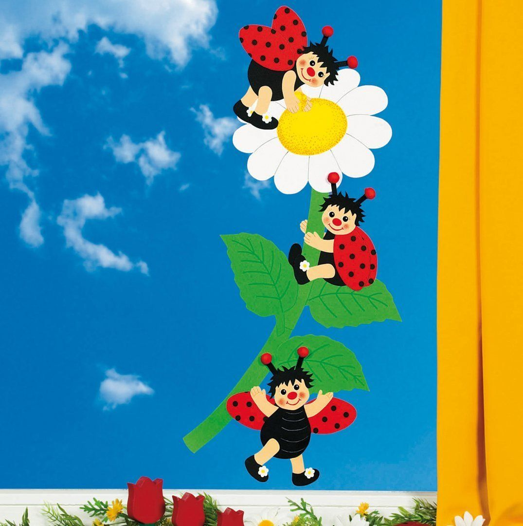 Ostern im kindergarten h ada googlom jarn n pady - Fensterdeko im kindergarten ...