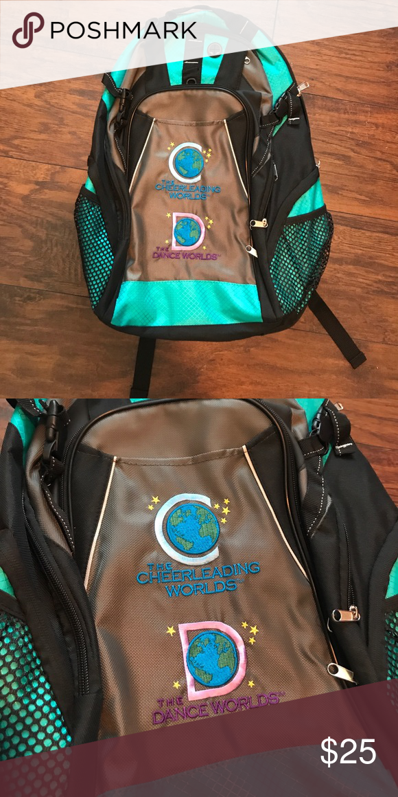 c0827ca0a6 NWOT 🌎 Cheerleading worlds backpack Brand new coaches backpack from the  2017 cheerleading worlds. Never used lofts of storage USASF Bags