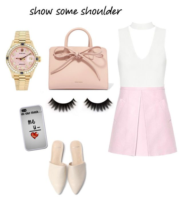 """""""Untitled #60"""" by danekams ❤ liked on Polyvore featuring Marni, Mansur Gavriel and Rolex"""