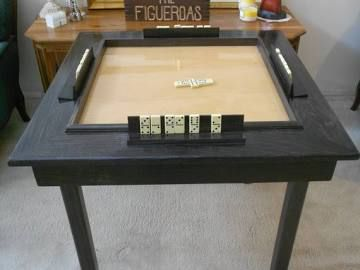 How To Build A Dominoes Table Domino Table Wood Table Diy Solid Wood Table