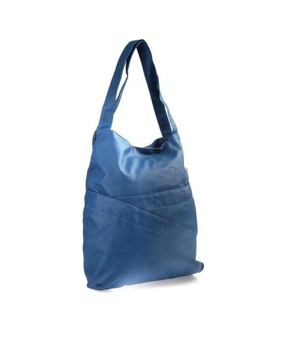 b174de2fccab Blue Casual Tote bag