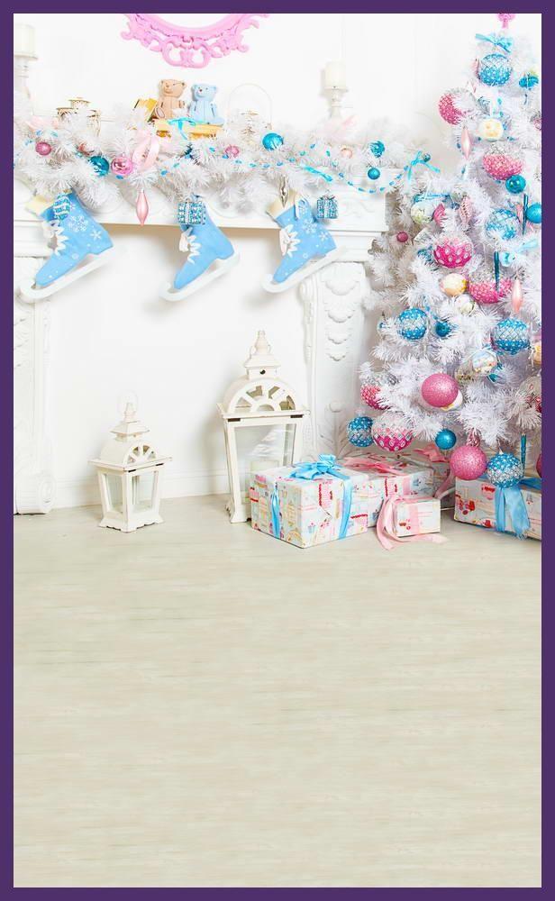 Sweet kids photo Christmas background fabric vinyl photography ...