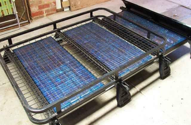 Mounting Solar Panels On Roofracks Roof Rack Truck Accessories Solar Panels