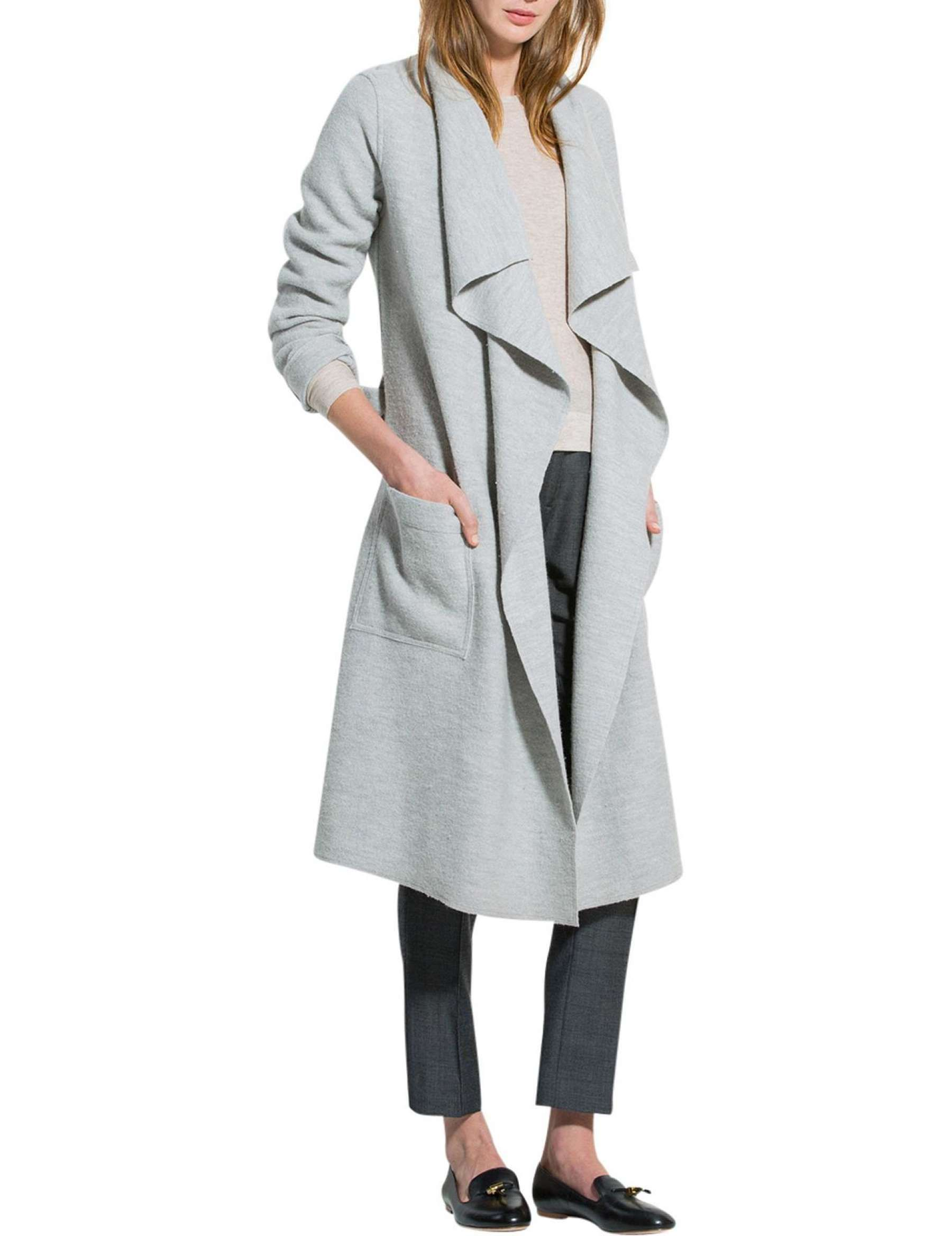 David Jones Trenery Boiled Wool Coat Boiled wool coat