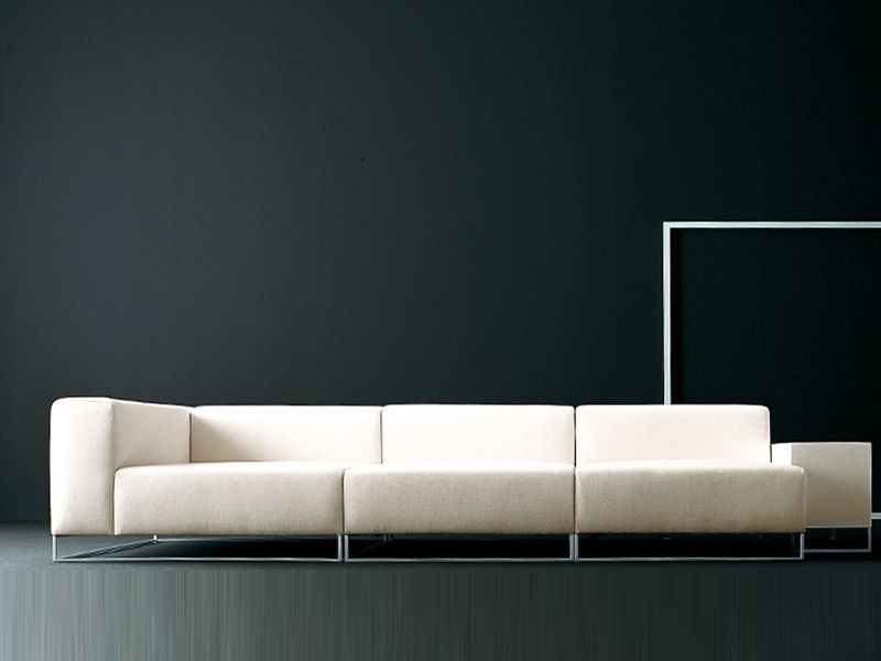 Download The Catalogue And Request Prices Of Wall2 Sofa By Living Divani Leather Sofa Design Piero Lissoni Wall Collection Sofa Divani Design Sofa Design