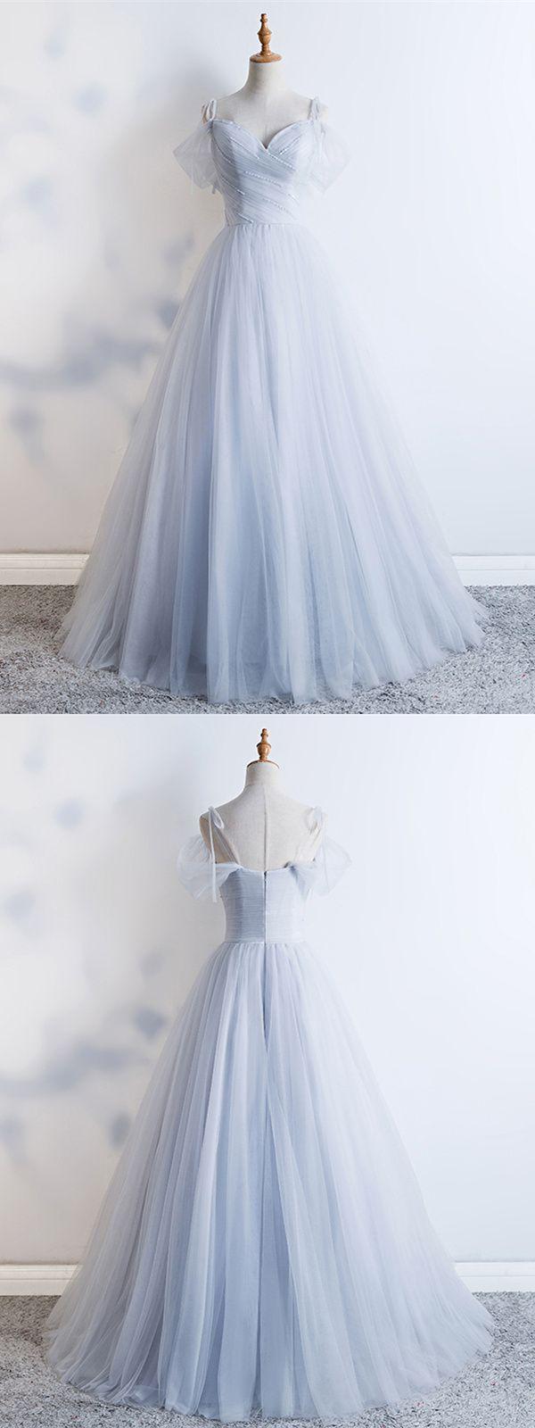 Prinzessin A Linie Cold Shoulder Abendkleid Abiballkleider