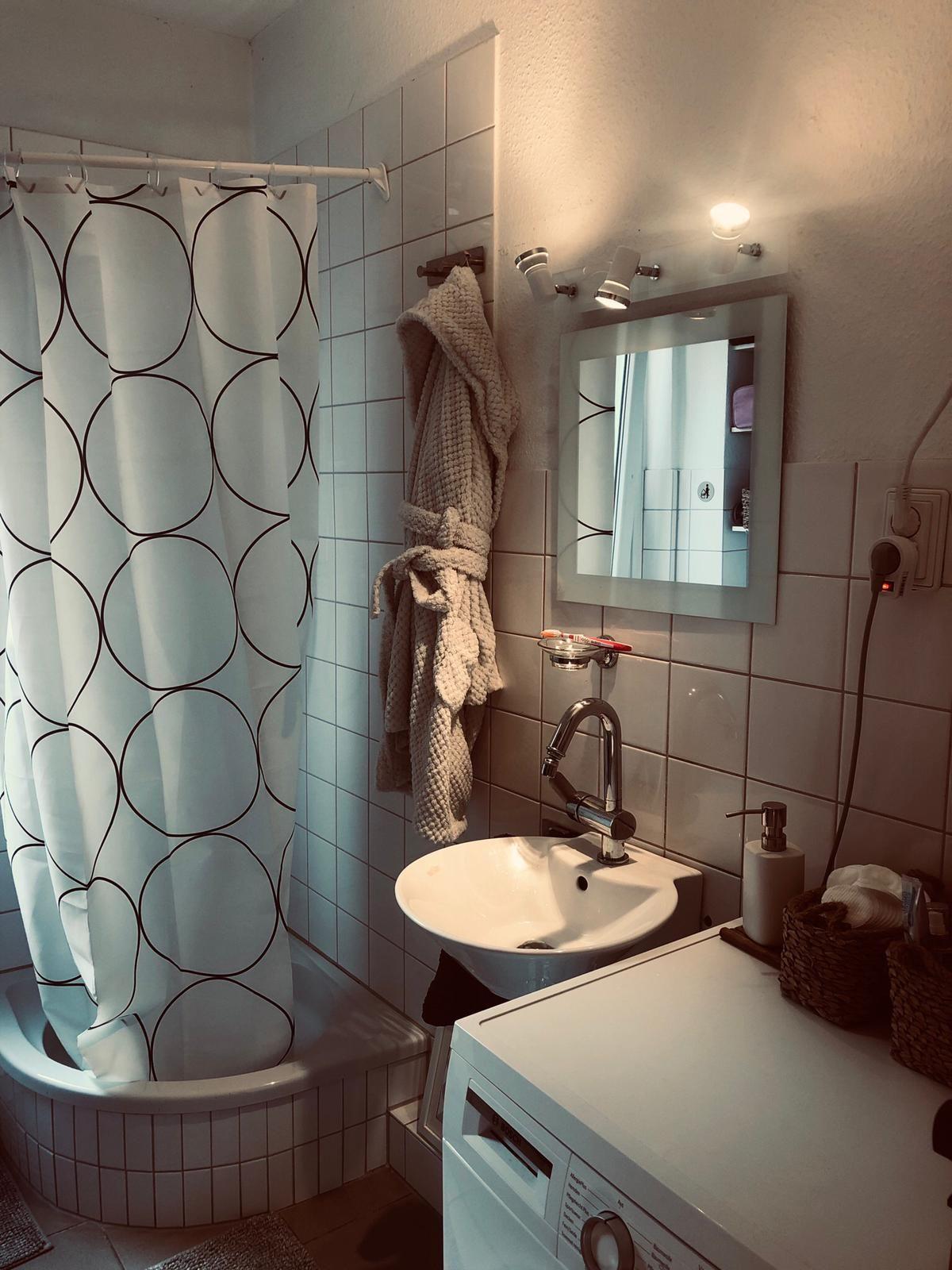 Ein super schönes Bad in einer Wohnung in Münster. wg