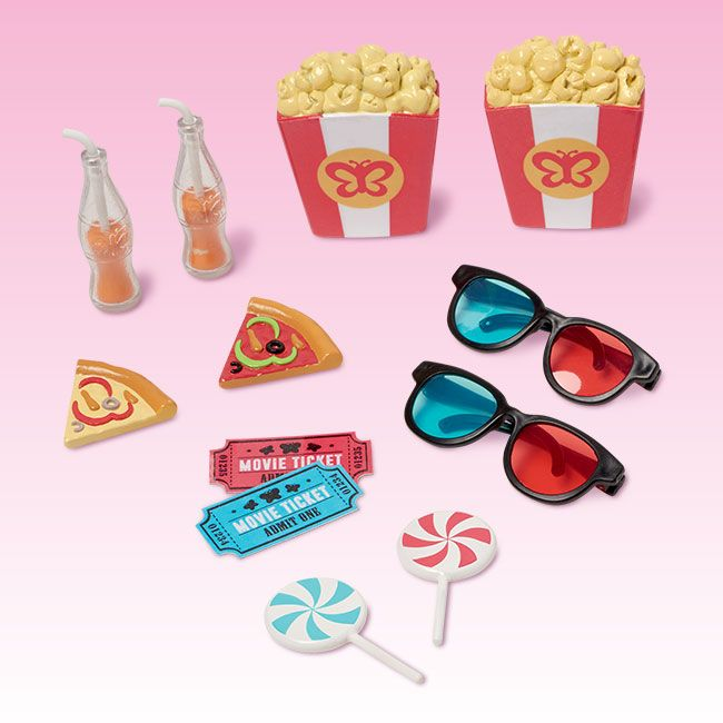 Movie Night Accessories | My Life As #dollaccessories