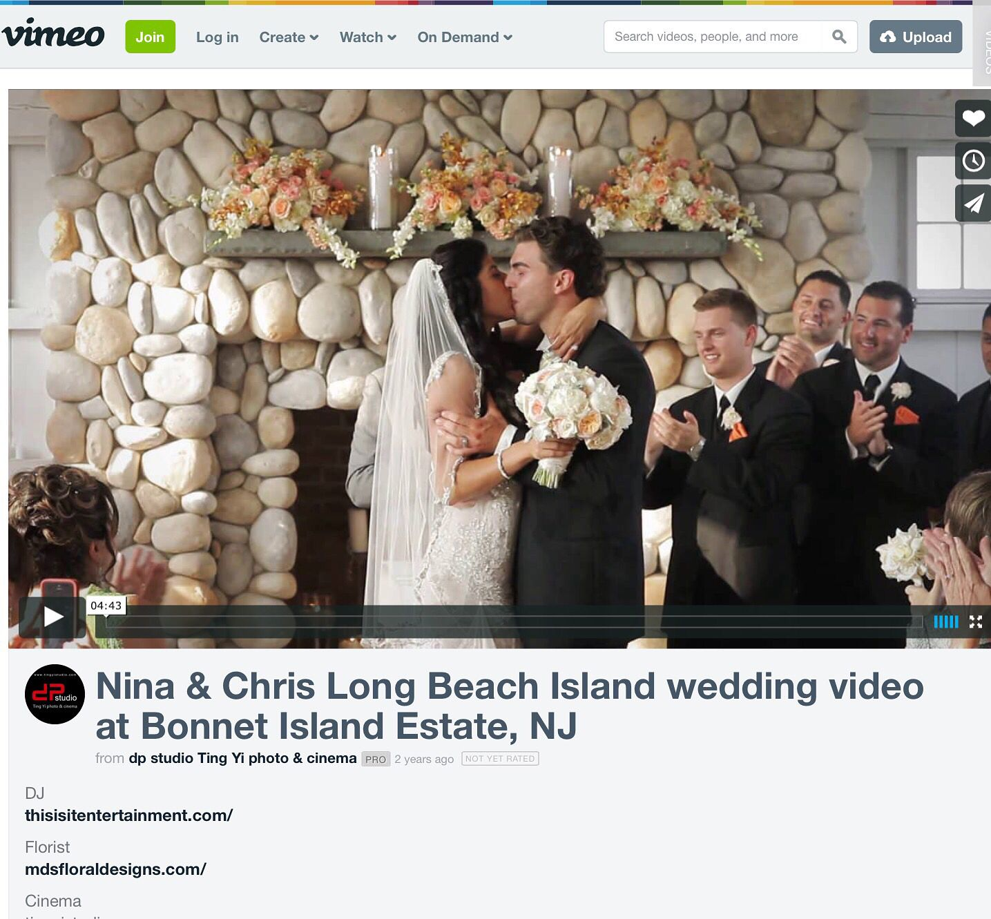 Nina Chris S Bonnet Island Estate Nj Wedding Video Trailer By