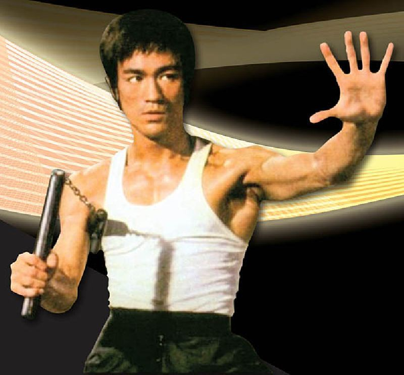 """bruce lee and nunchucks   bruce_lee_chaku   """"one of the ..."""