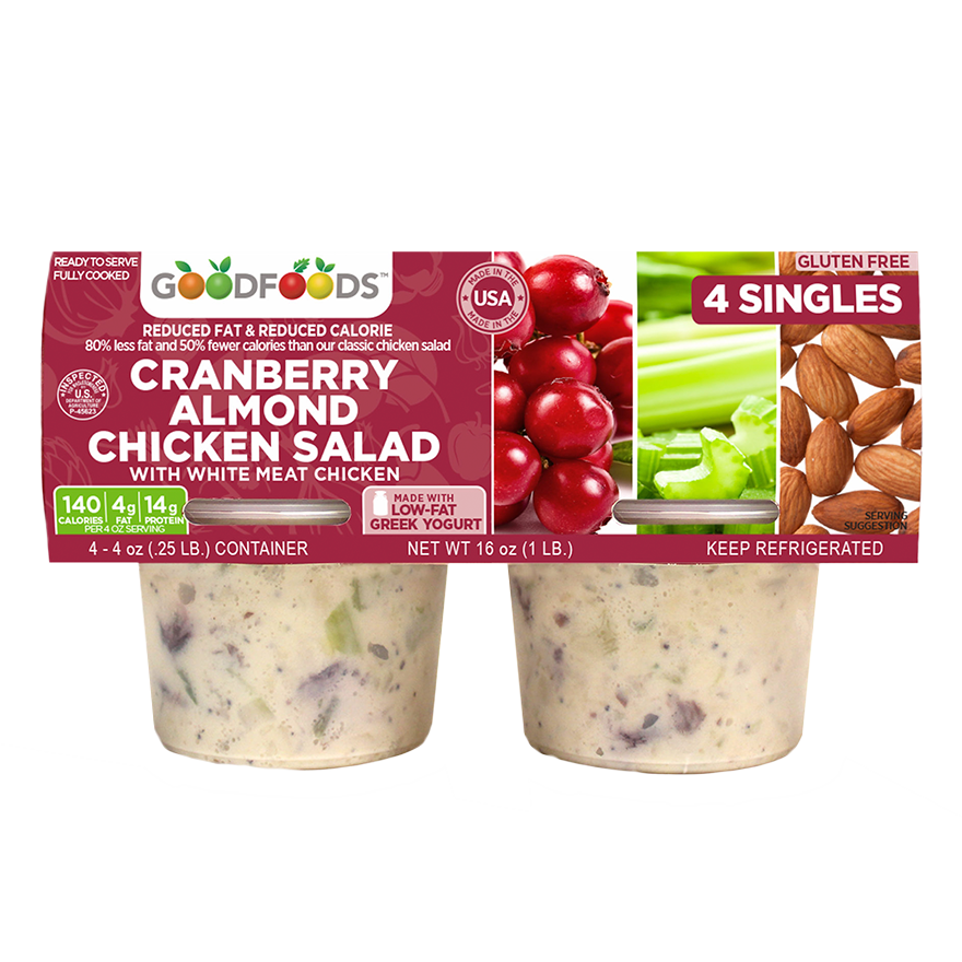 Salads Cranberry Almond Chicken Goodfoods Costco Mindful