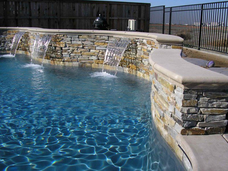 Sheer Descents In A Quartzite Ledge Stone Wall Water Features Spillways Pinterest Stone