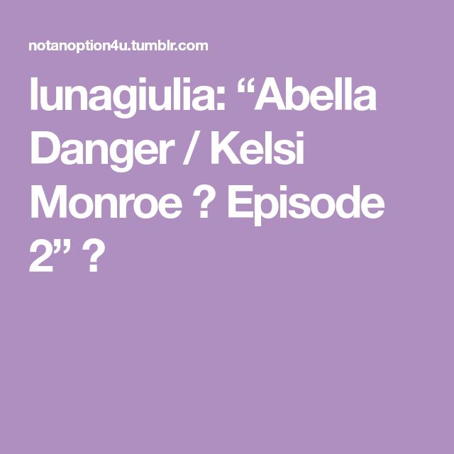 Abella Danger Anal Squirt