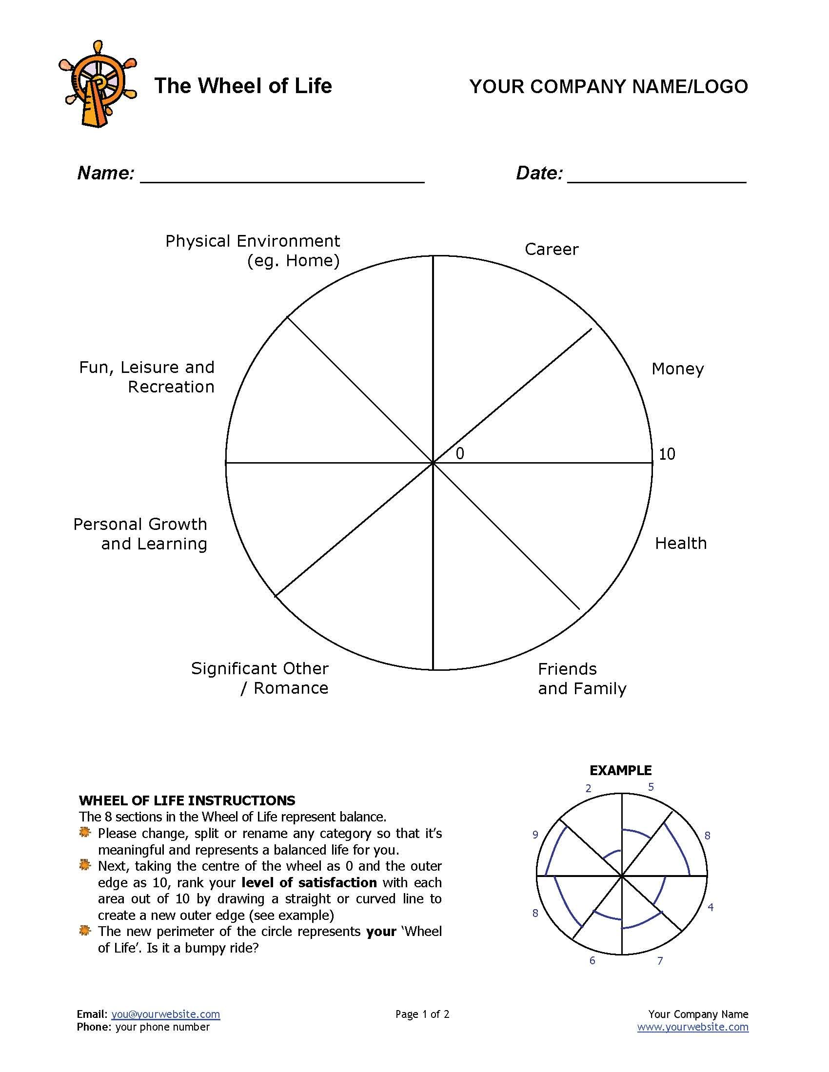 worksheet Life Coaching Worksheets 12 awesome new ways to use the wheel of life tool in your coaching article coaching