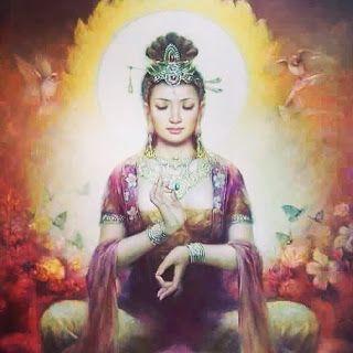 Resultado de imagem para O PODER DA ORAÇÃO - PRATICA DO PERDÃO - Divina Mãe Kwan Yin