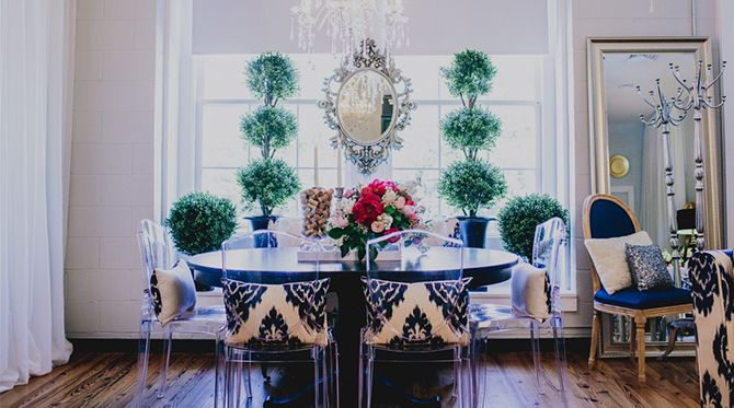 Arredamento Ufficio Wedding Planner : An event planner s bright bold office