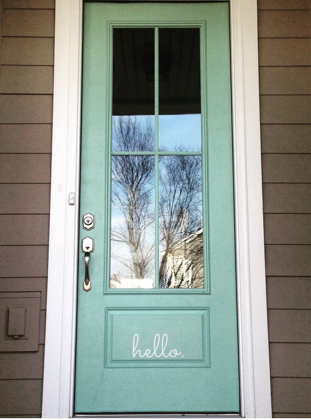 My Neighbors Front Door Color The Colors Of Historical Charleston By Sherwin Williams Duron Paint Sea Gl