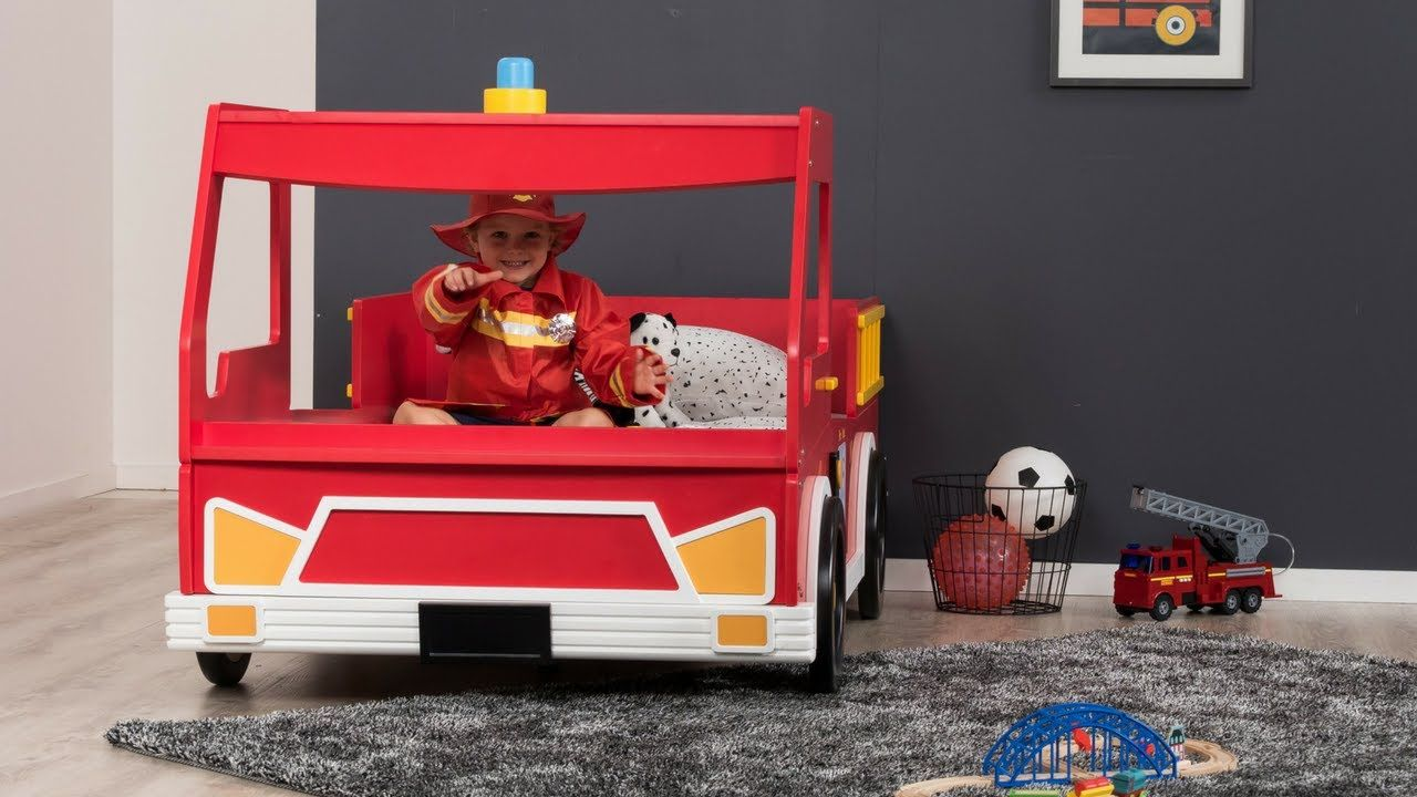 Freddy Fire Engine Single Bed Amart Furniture Big boy