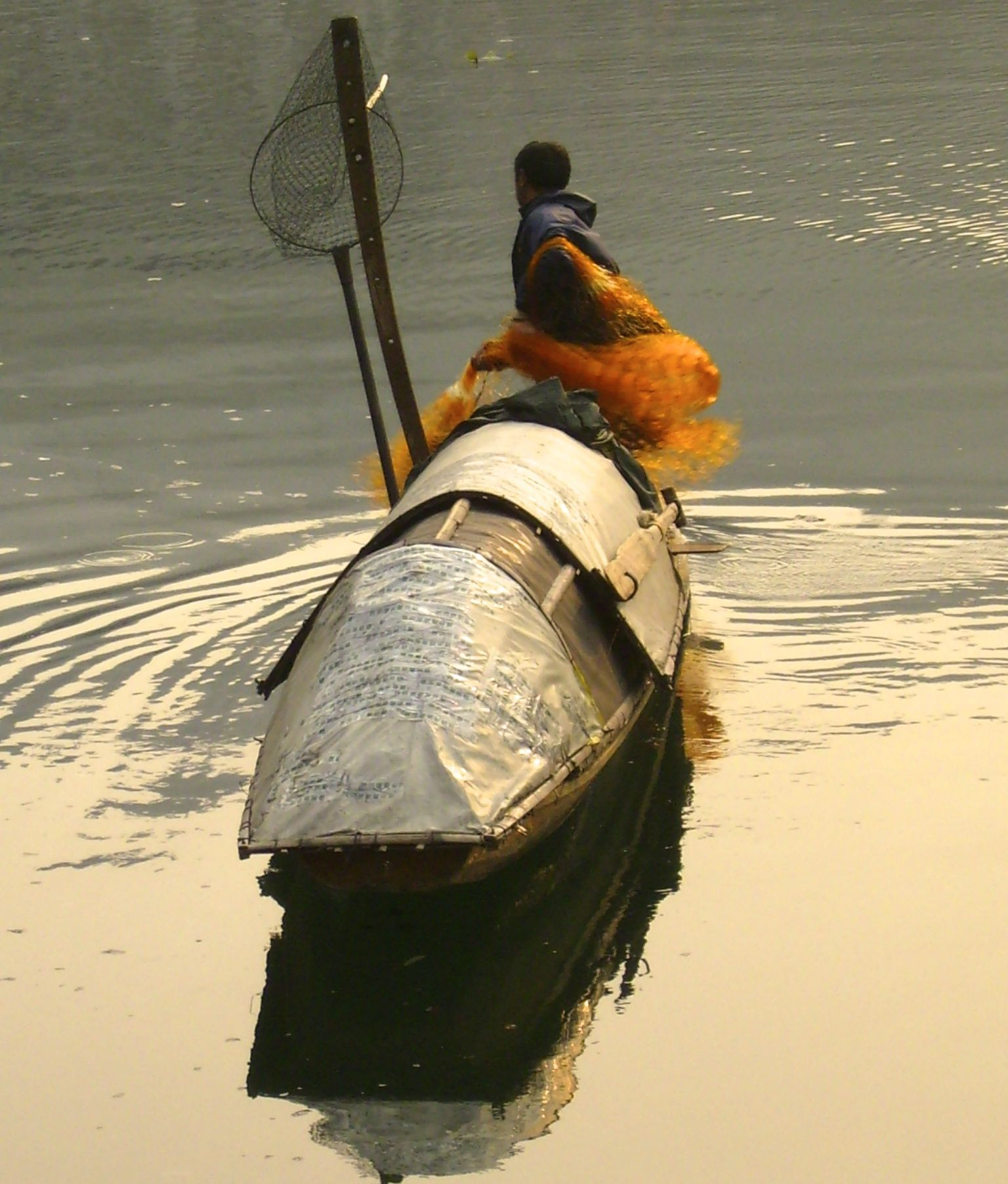 Brahma Kumaris Positive Thinking Quotes: Evening Fishing. Guizhou, China...by Millana