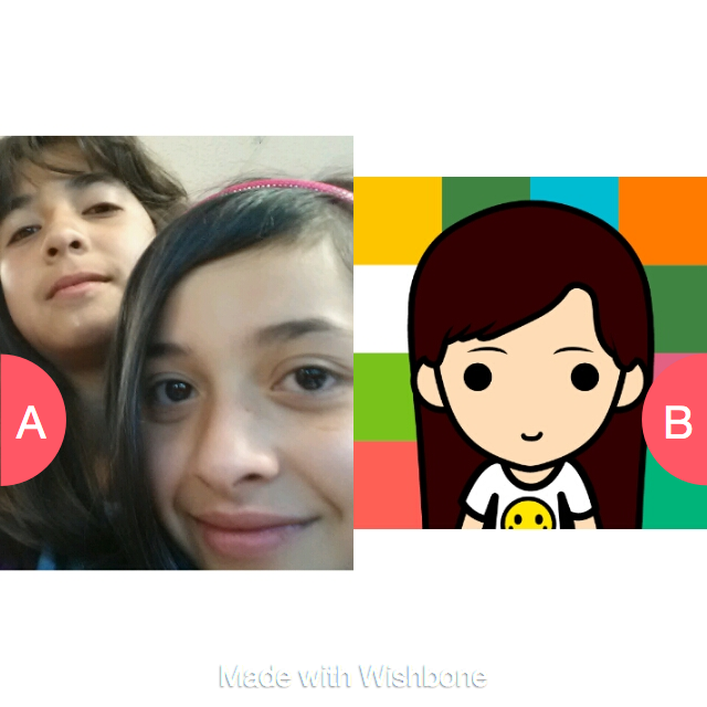 sibling or only child Click here to vote @ http://getwishboneapp.com/share/1368338